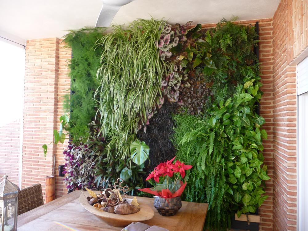 Jardines verticales singulargreen for Jardines verticales alicante