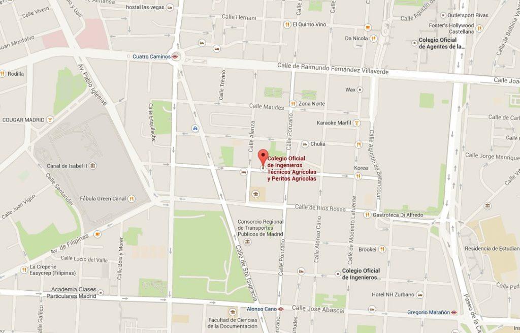 Localización curso de jardines verticales en Madrid