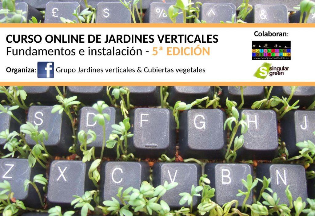 Curso online de jardines verticales 5 edici n for Curso de diseno de jardines