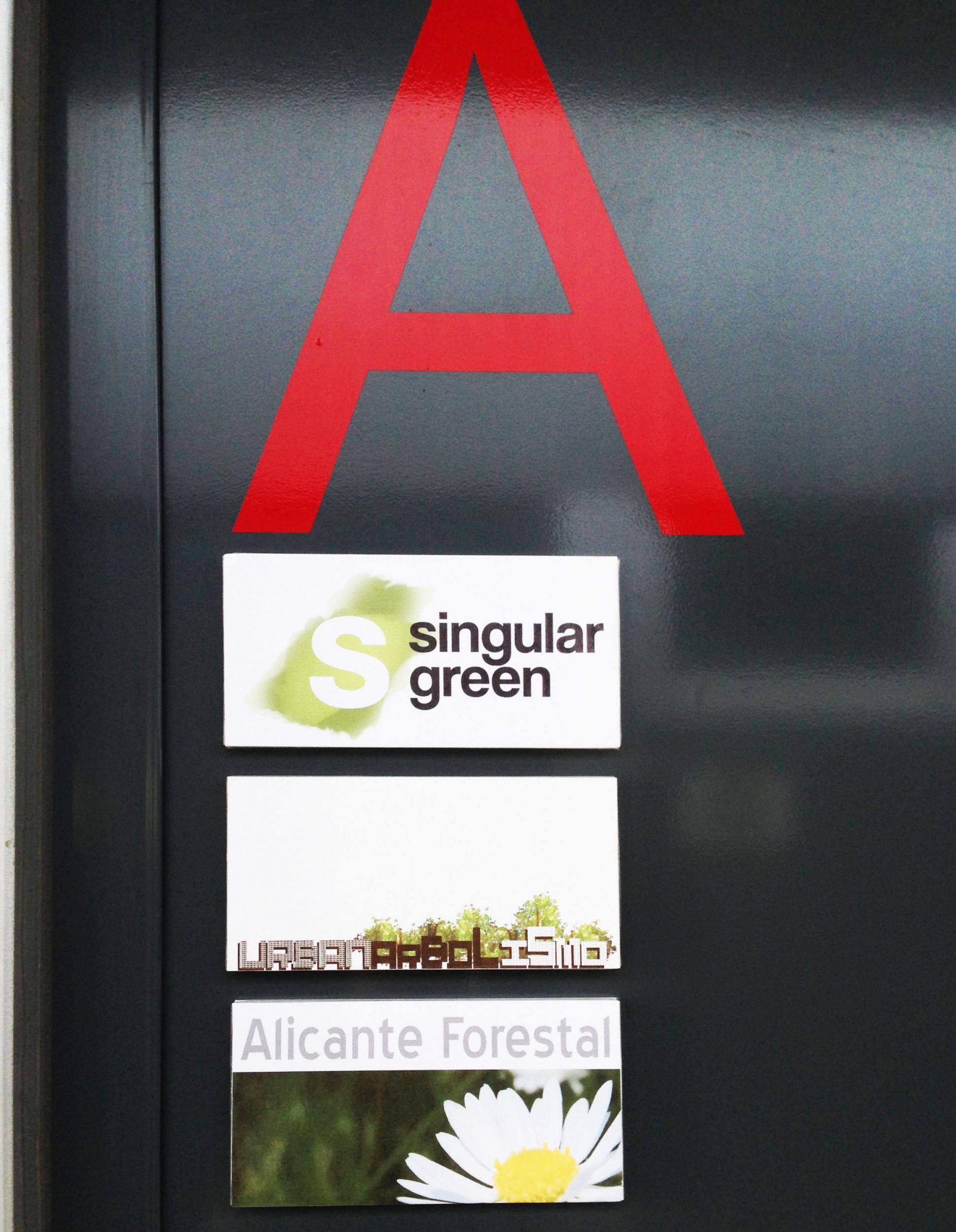 SingularGreen, Urbanarbolismo y Alicante Forestal