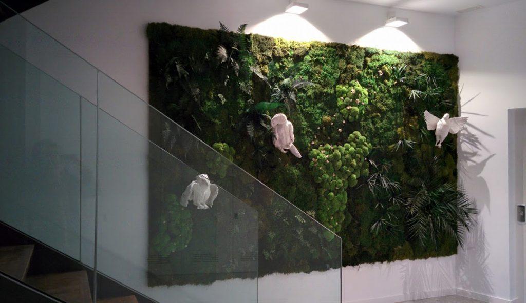 Jardines verticales de planta conservada singulargreen - Plantas para jardines verticales ...