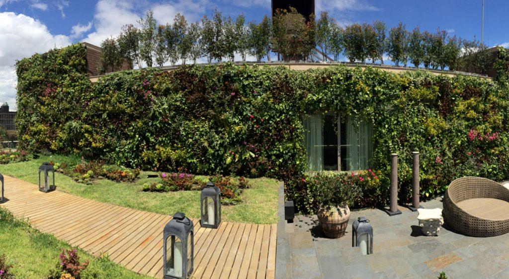 Jardines verticales en Colombia