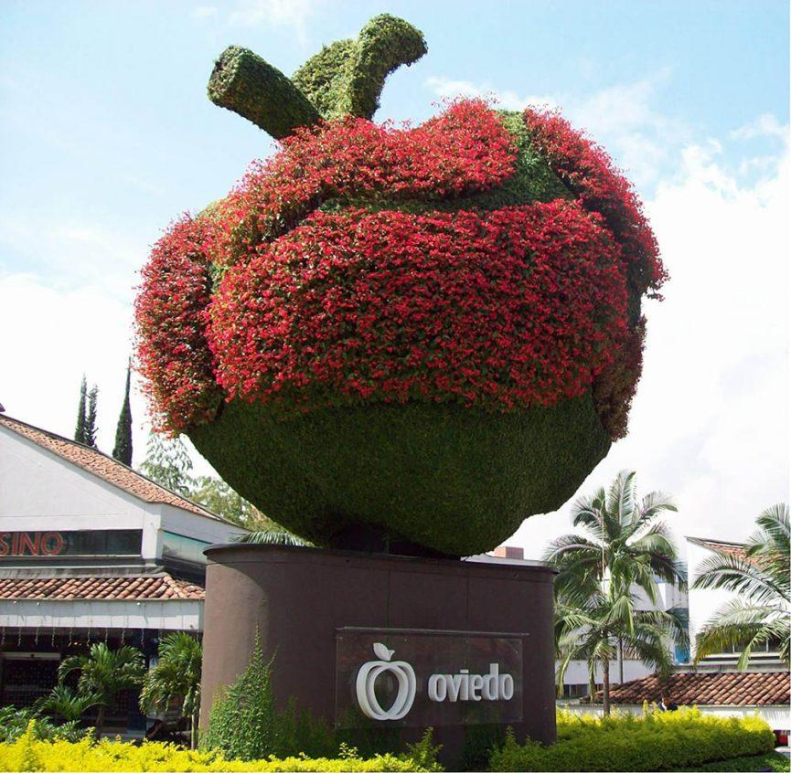 Los 5 mejores jardines verticales en colombia singulargreen for Beneficios de los jardines verticales