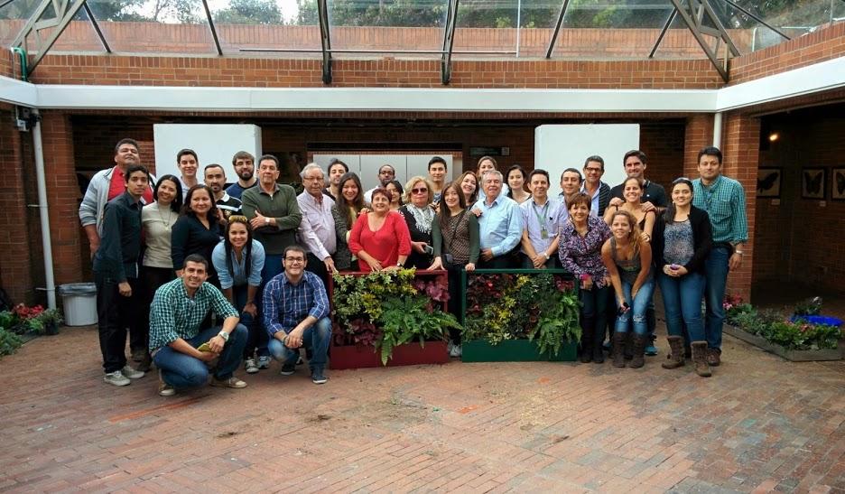 Curso de jardines verticales en Bogotá