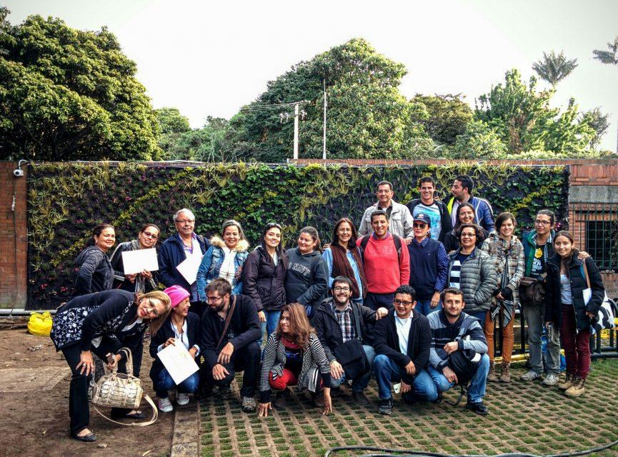 Curso avanzado de jardines verticales en colombia for Jardines 20 de julio bogota