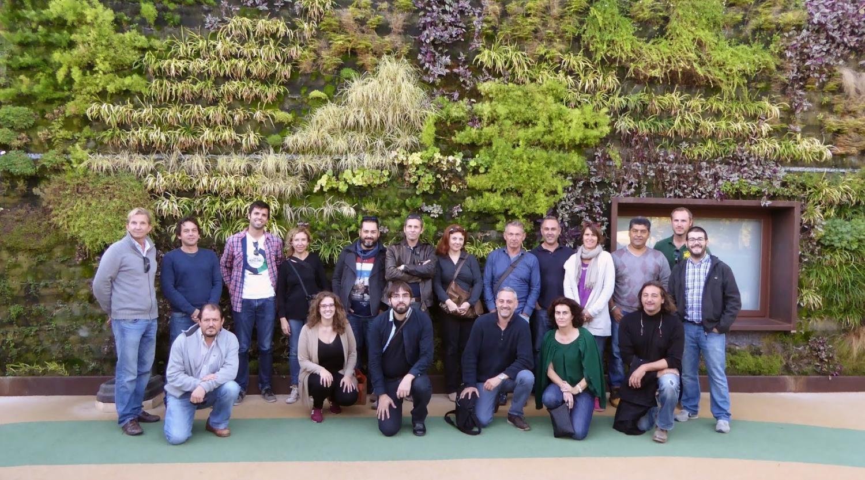 Curso en ecuador de jardines verticales y cubiertas vegetales for Jardines verticales quito