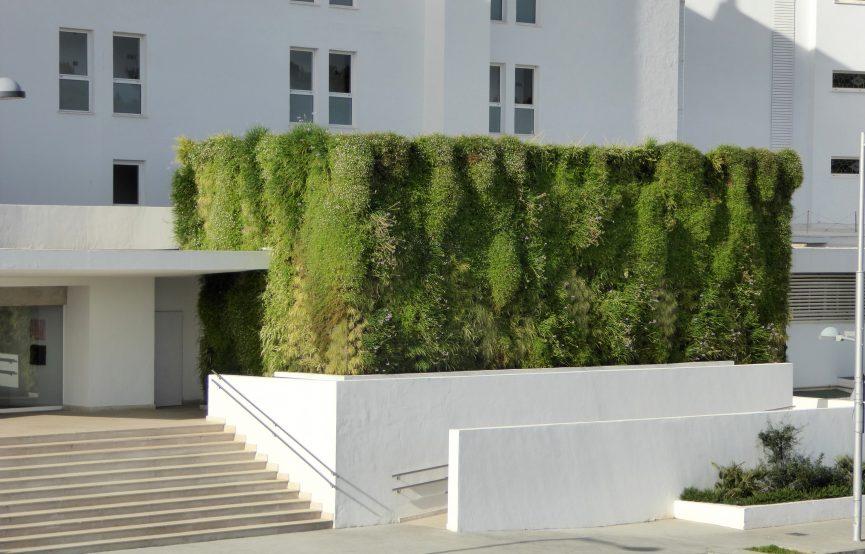 Jardín vertical en Mallorca