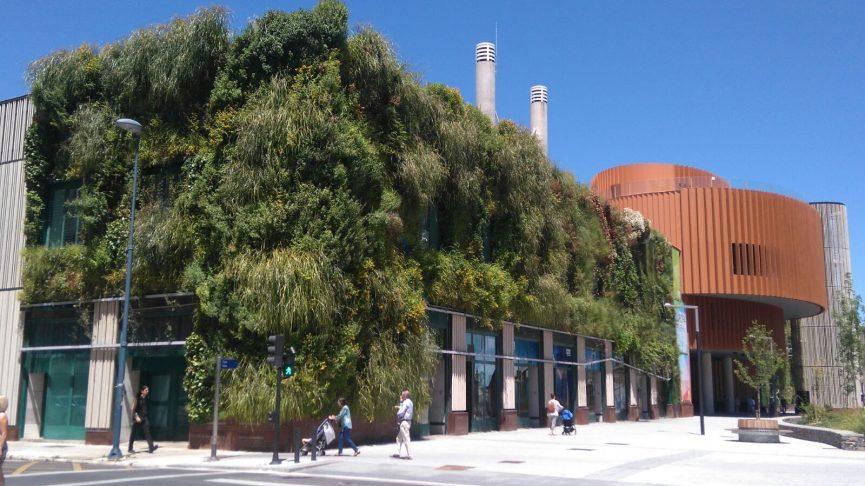 Jardín Vertical en el Palacio de Congresos de Vitoria-Gasteiz