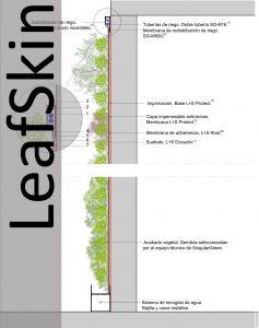 Sección Jardín Vertical LeafSkin