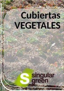 Catálogo comercial con trabajos de cubierta vegetal