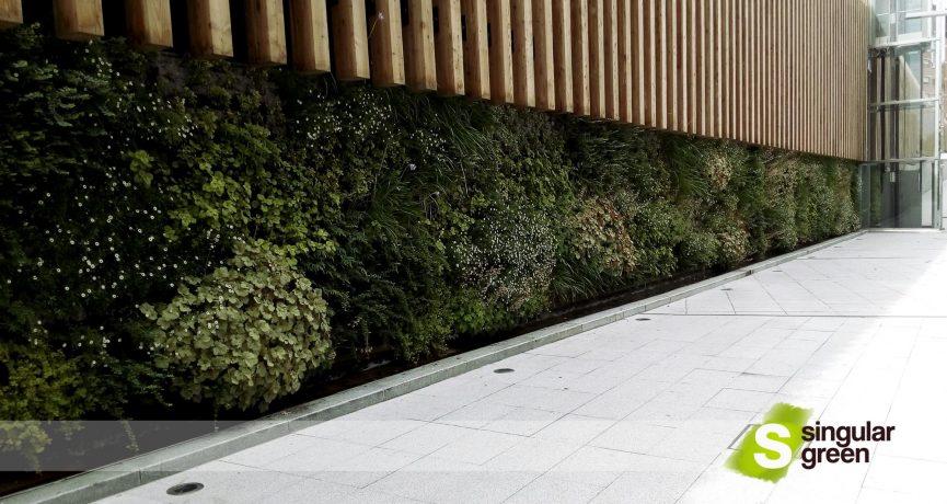 Jardín Vertical F+P en Bilbao