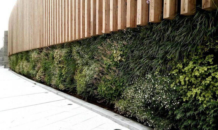 Jardines verticales en Bilbao