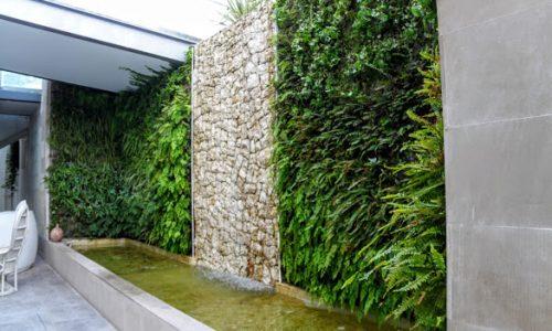 Jardines verticales acuapónicos
