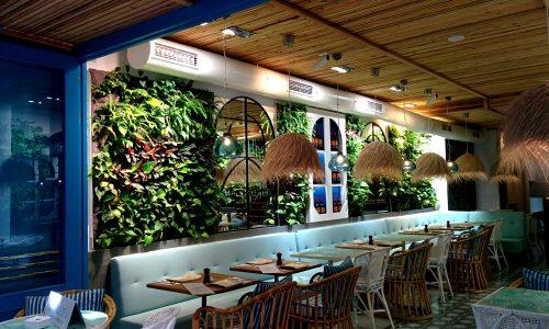 Jardín vertical F+P de interior