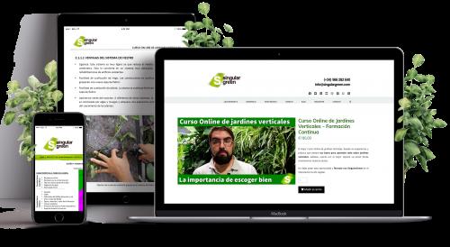 Curso de jardines verticales online