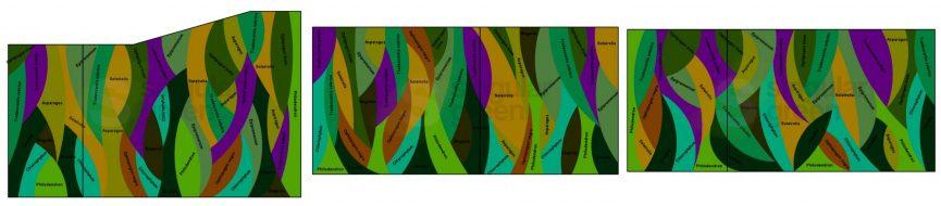Jardines verticales en Valencia - Diseños