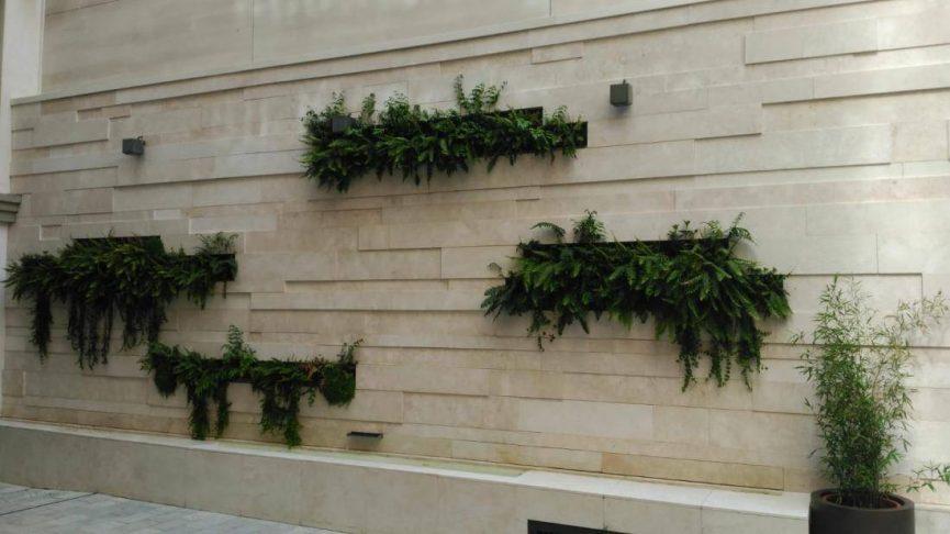 Jardines verticales en Granada