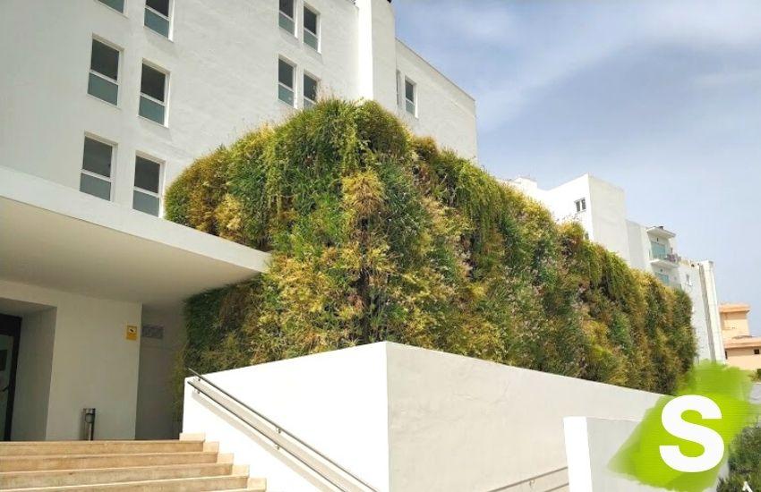 Jardín vertical instalado actualmente en Islas Baleares concretamente en Mallorca