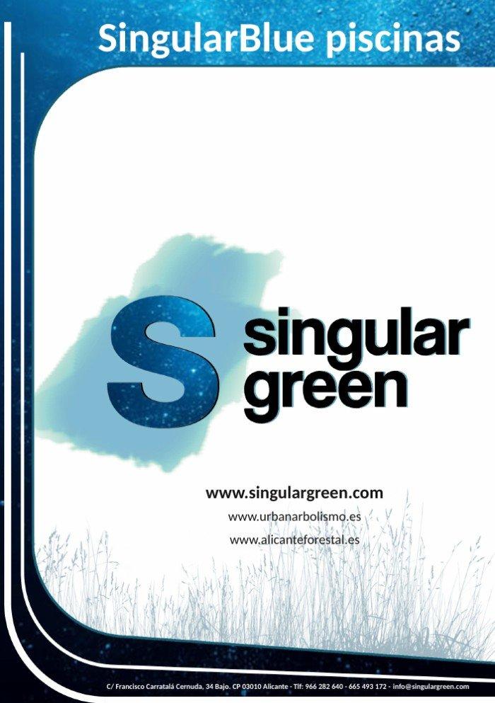 Piscinas naturales SingularBlue