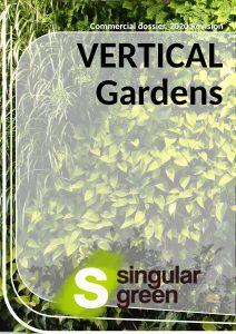 Catálogo de muros vegetales en inglés