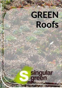 Catálogo de cubiertas verdes inglés