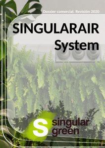 catálogo sistema de climatización interior singularair