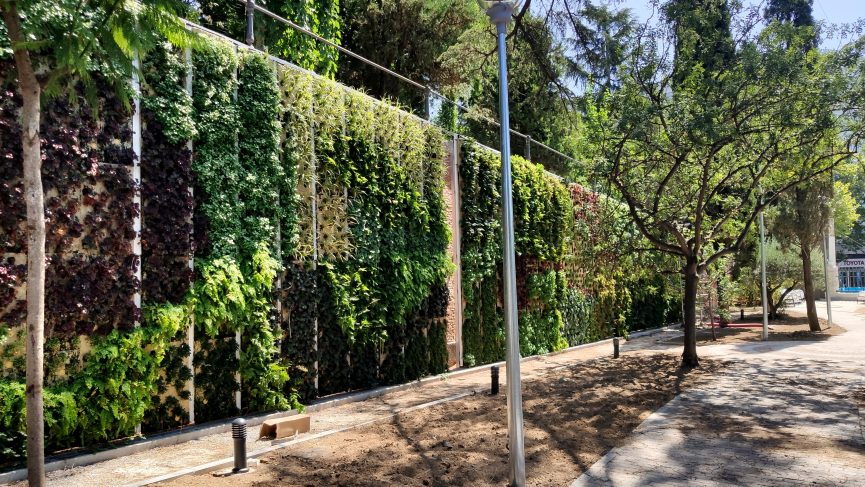 jardin vertical en Madrid