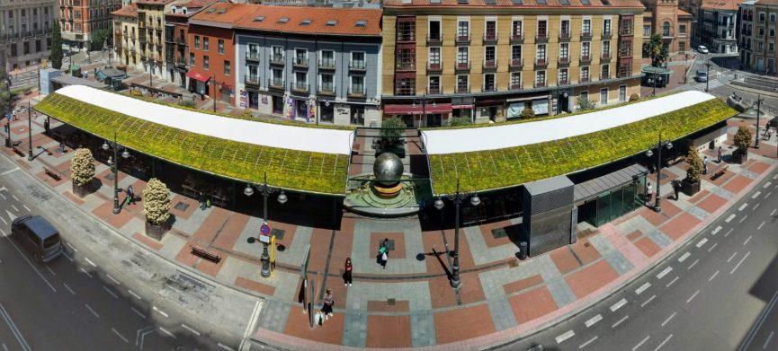 Cubierta vegetal en Valladolid