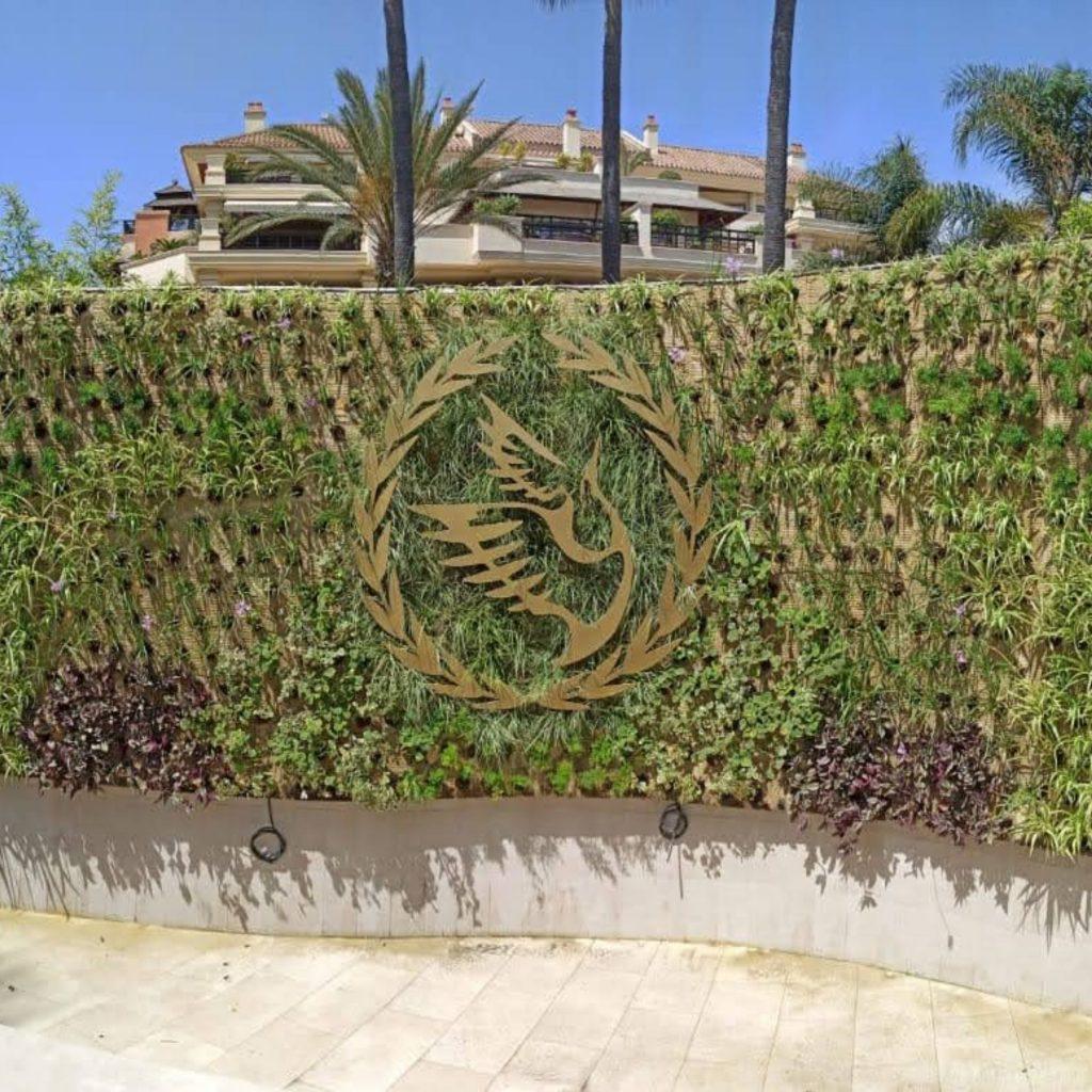 Jardin vertical en Marbella