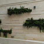 Muro con vegetación en granada