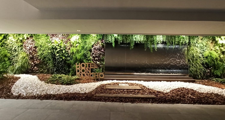 Jardin Vertical en hotel de Alicante