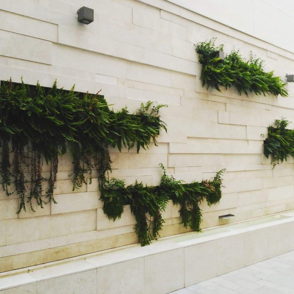 jardin vertical en granada
