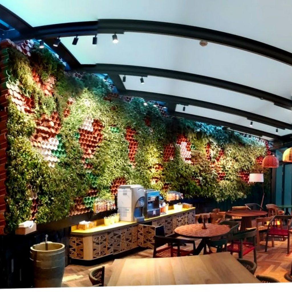 Jardin interior en Londres con premio al diseño