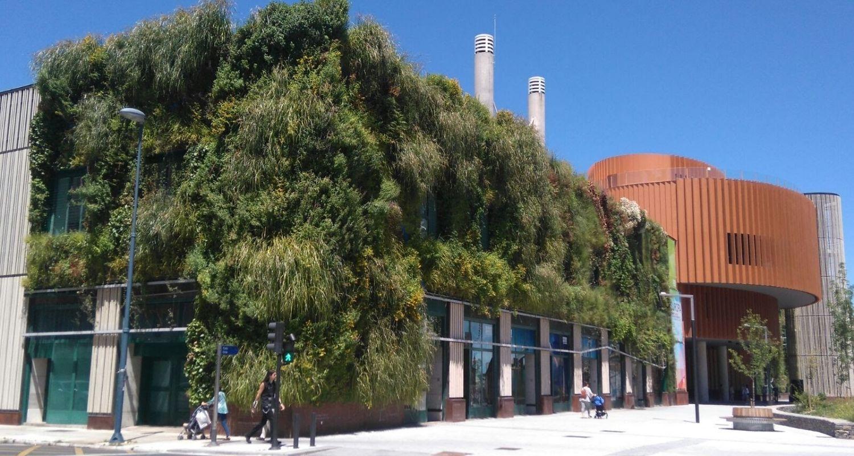 Jardín vertical Vitoria, Palacio de Congresos