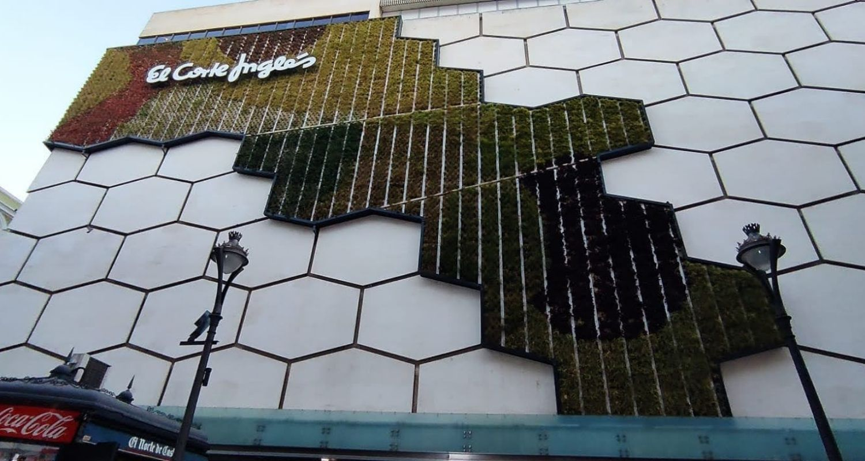 muro verde en valladolid
