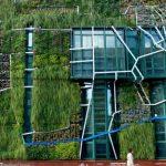 Detalle Jardin vertical Palacio de Congresos Vitoria