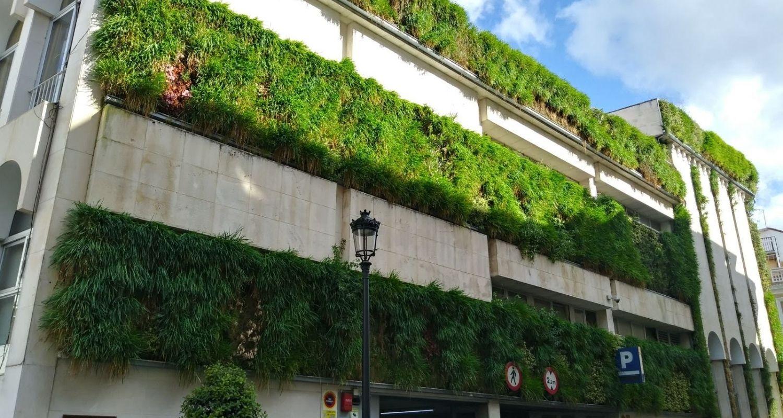 Detalle jardin vertical Lucena