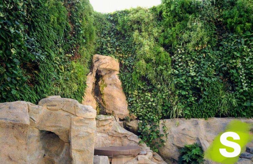 Jardín vertical en Palma
