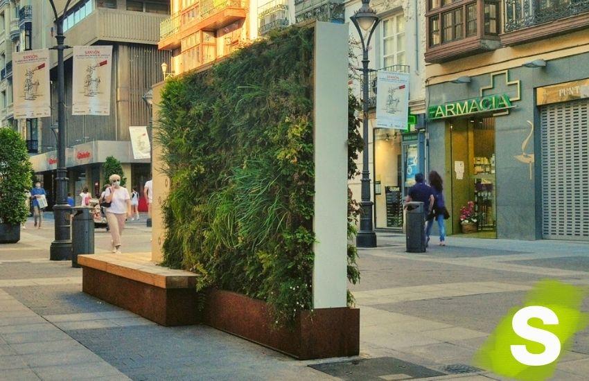 Jardines verticales moviles