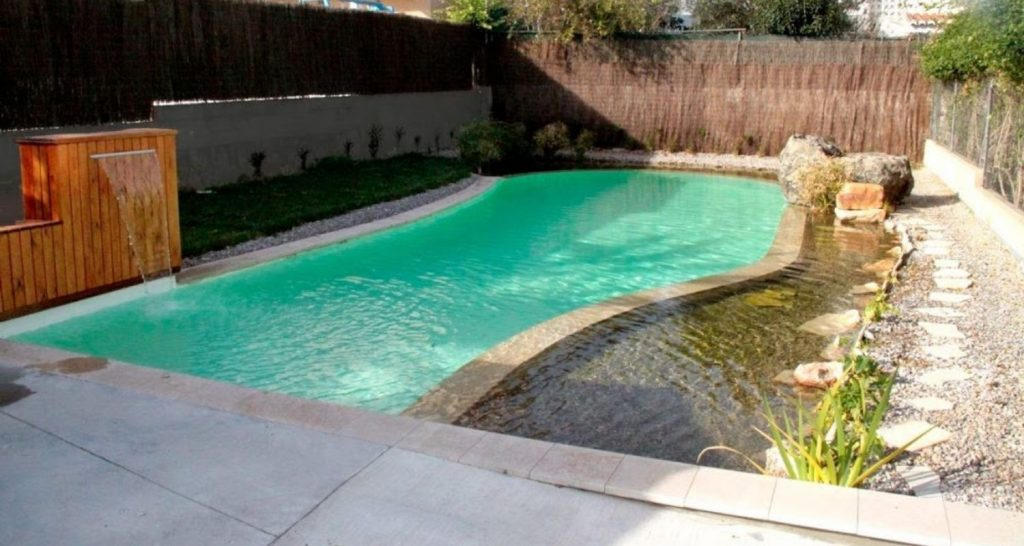 vaso de piscina natural