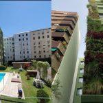 jardinería vertical para fachadas