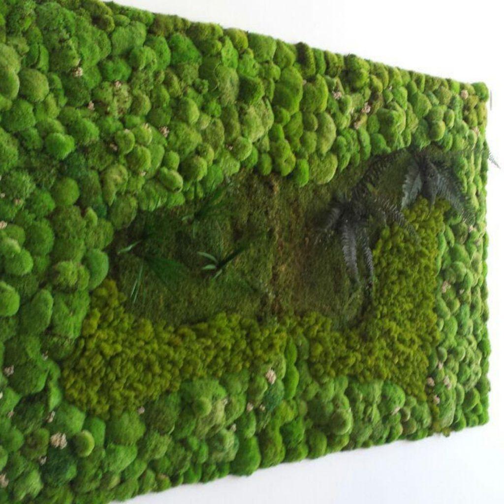 Muro verde artificial oficinas en alicante