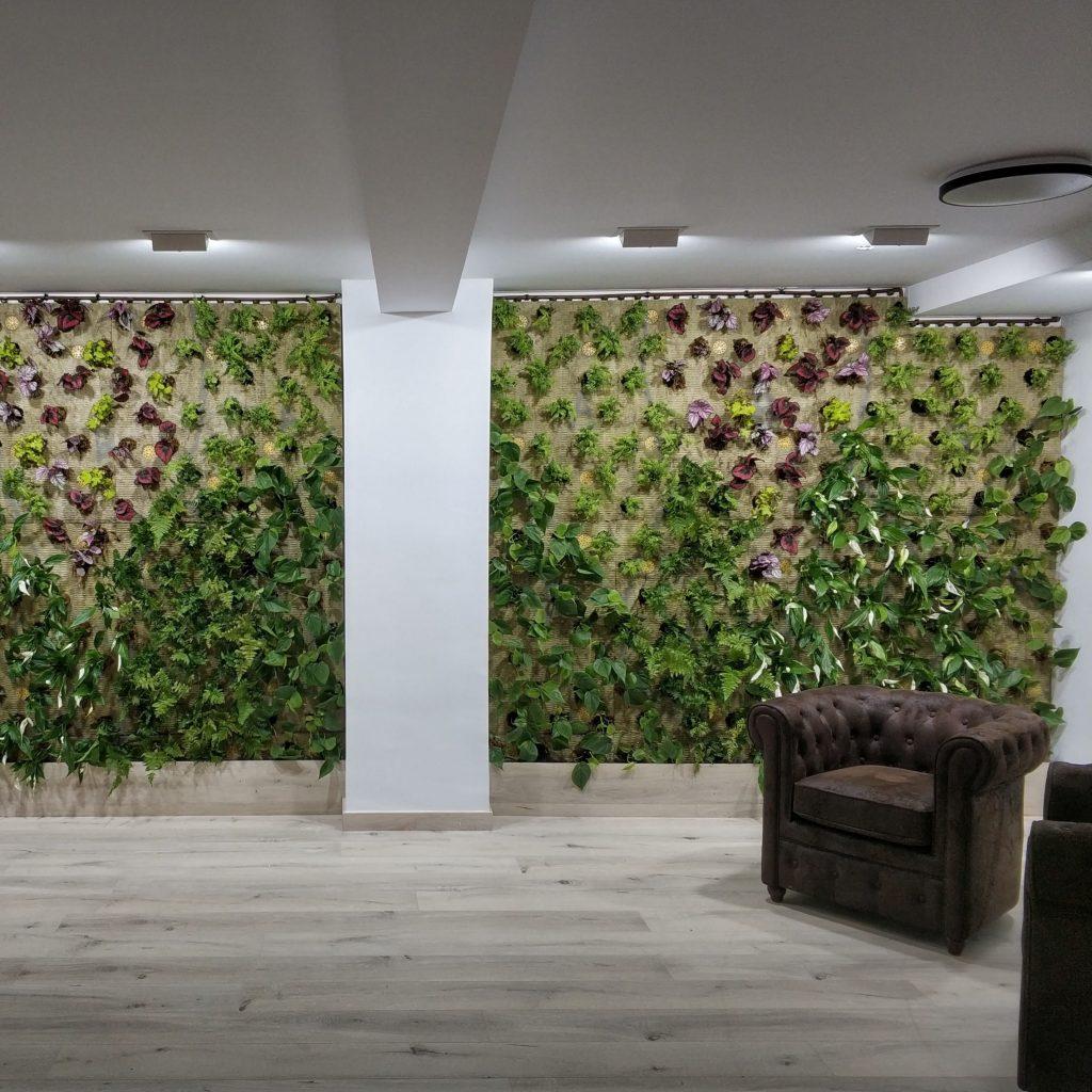 Jardin vertical alicante oficina