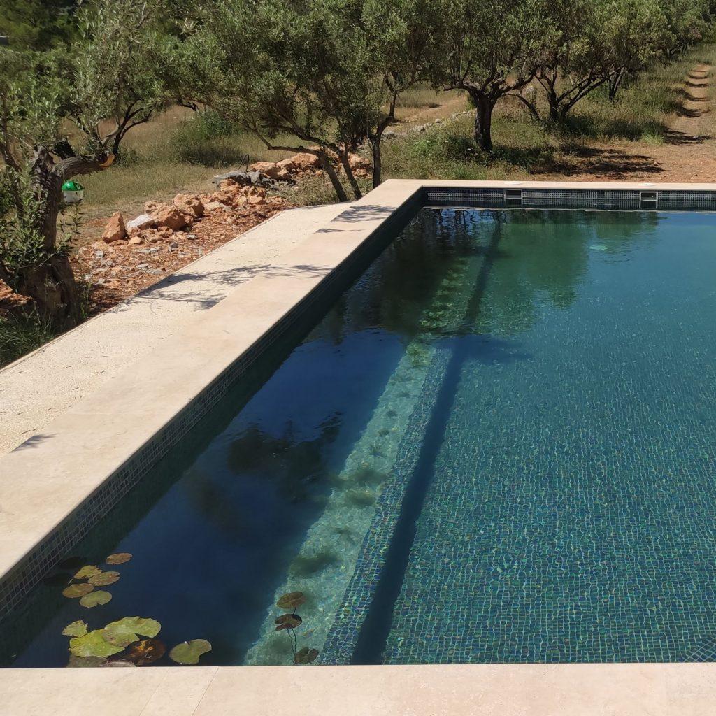 piscina sin cloro en Valencia filtro biológico