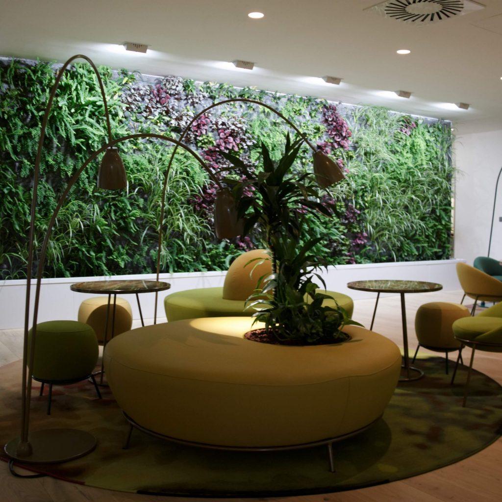 jardín vertical para oficinas en Madrid